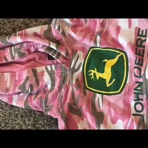John Deere Shirts & Tops - Girls John Deere Sweatshirt